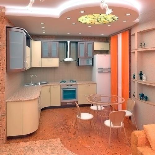 Варианты декора квартир с высокими потолками