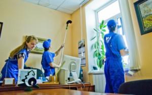 Генеральная уборка при помощи специалистов клининговой компании